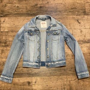 Target mossimo stretch Jean jacket small